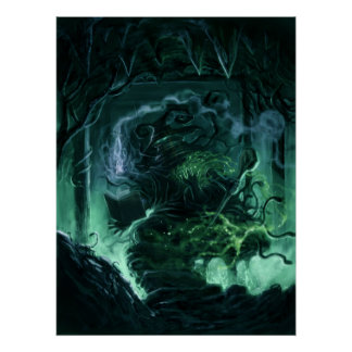 poison mage poster