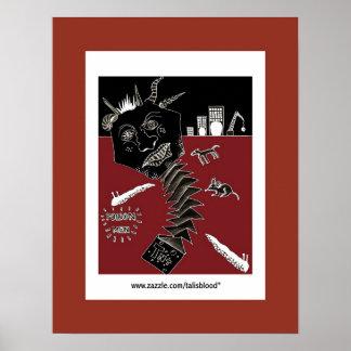 Poison Men by talisblood artist sivablood Poster