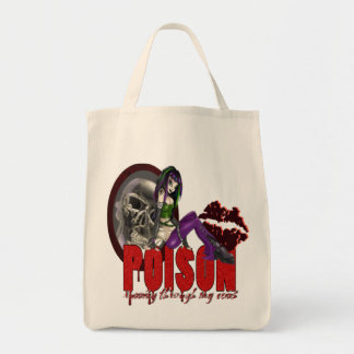 Poison - Organic Grocery Tote