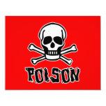 Poison Personalized Invite