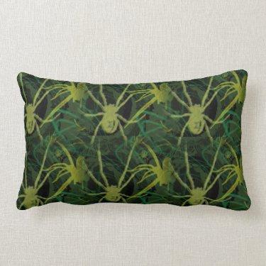 Poison Pillow- Gothic Dark Spider