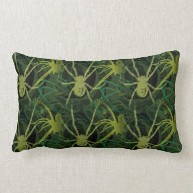 Poison Pillow- Gothic Dark Spider Throw Pillow