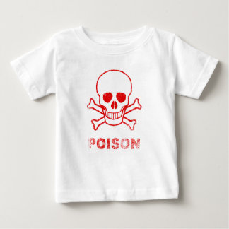 Poison Red Ink Stamp Baby T-Shirt