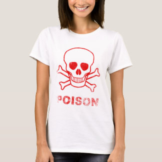 Poison Red Ink Stamp T-Shirt