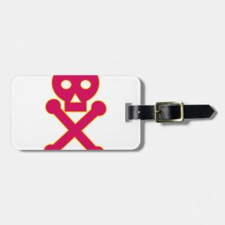 Poison Symbol Icon Luggage Tag