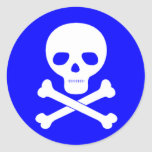 Poison Symbol Stickers