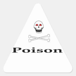 Poison Triangle Sticker