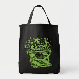 Poison Typewriter Tote Bag