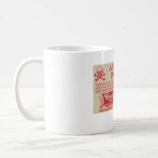 Poison Vintage Apothecary Arsenic Label Mug