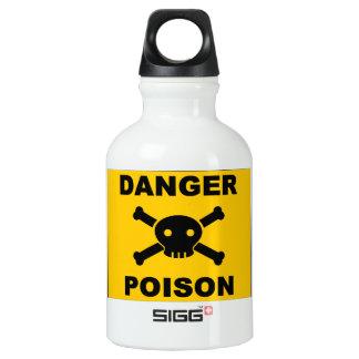 Poison Warning Water Bottle