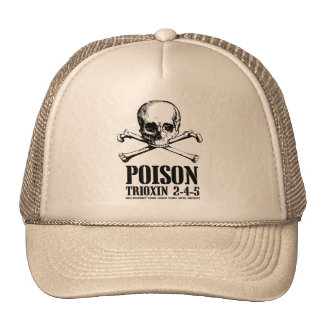 Poison Zombie Trioxin 3-4-5 Dawn of the Dead Hat