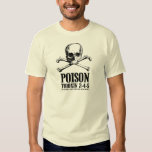 Poison Zombie Trioxin 3-4-5 Dawn of the Dead T Shirt