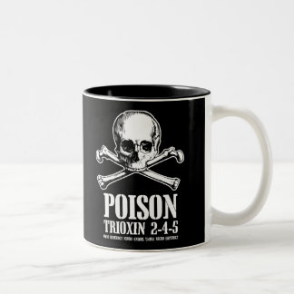 Poison Zombie Trioxin 3-4-5 Dawn of the Dead Two-Tone Coffee Mug