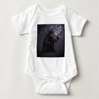 Poisoned apple baby bodysuit