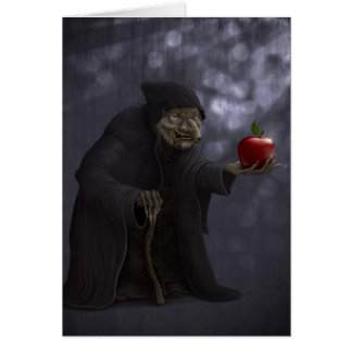 Poisoned apple card