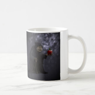 Poisoned apple coffee mug