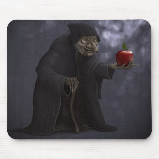 Poisoned apple mouse pad