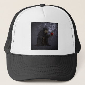 Poisoned apple trucker hat