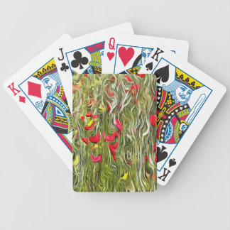 Poisoned Poppies Bicycle Playing Cards