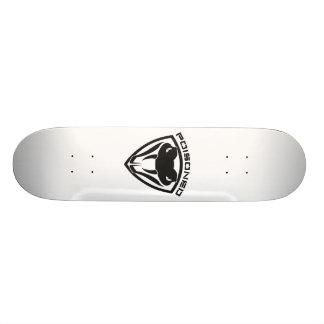poisoned snakeshield skateboard deck