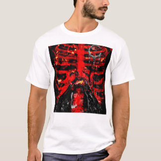 {POISONLAND} Rib Cage FITTED Shirt