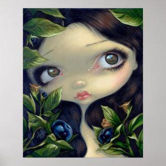 Poisonous Beauties 1 :  Belladonna ART PRINT fairy