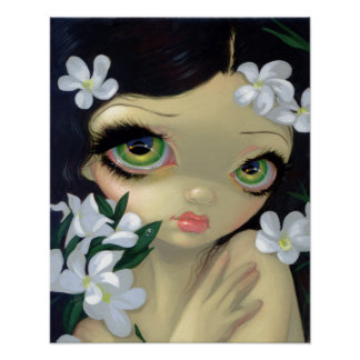 Poisonous Beauties 2 : White Oleander ART PRINT