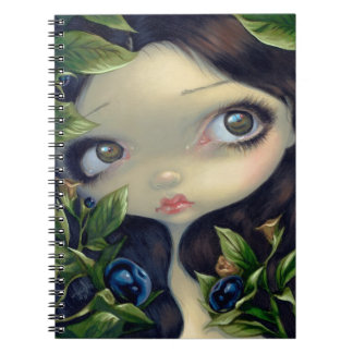 """Poisonous Beauties I: Belladonna"" Notebook"