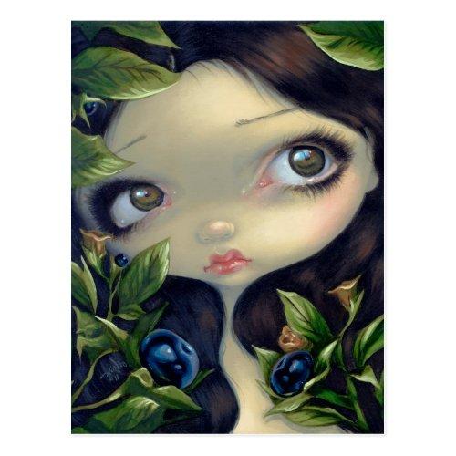 Poisonous Beauties I Belladonna Postcard