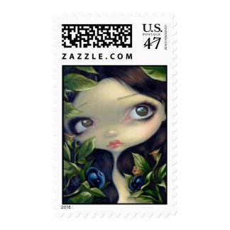 """Poisonous Beauties I: Belladonna"" Stamp"