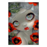 """Poisonous Beauties III Opium Poppy"" Greeting Card"