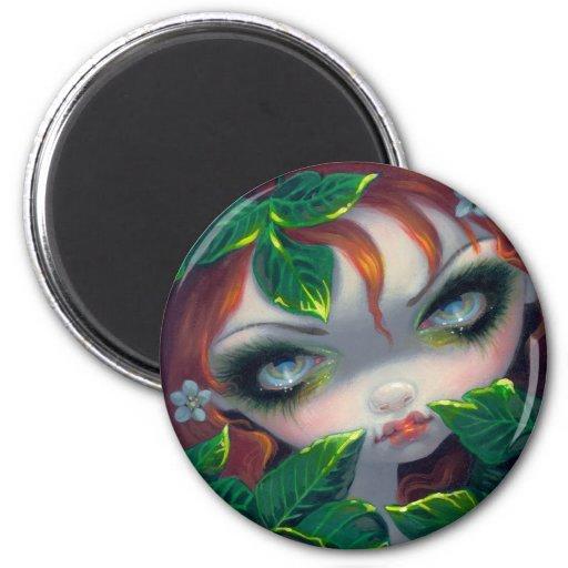 """Poisonous Beauties IV: Poison Ivy"" Magnet"
