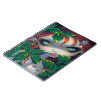 """Poisonous Beauties IV: Poison Ivy"" Notebook"