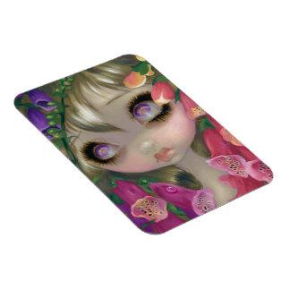 """""""Poisonous Beauties IX:  Foxgloves"""" Flex Magnet"""