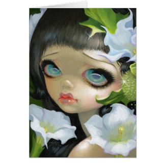 """""""Poisonous Beauties V: Datura"""" Greeting Card"""