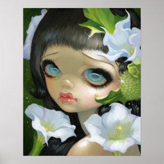 Poisonous Beauties V: Datura kind print fairy