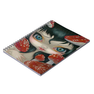 """Poisonous Beauties VI: Fly Agaric"" Notebook"