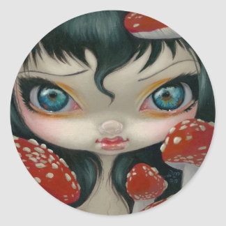 """Poisonous Beauties VI: Fly Agaric"" Sticker"