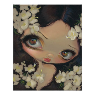 Poisonous Beauties VII :  Hemlock ART PRINT fairy