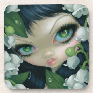 """""""Poisonous Beauties XI: Lily of the Valley"""" Coaste Beverage Coaster"""