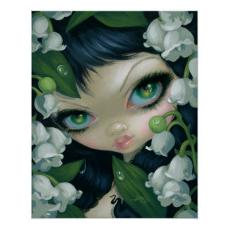 Poisonous Beauties XI: Lily of the Valley Fairy Poster