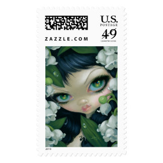 """""""Poisonous Beauties XI: Lily of the Valley"""" Stamp"""