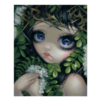 Poisonous Beauties XII:  Black Locust Fairy PRINT