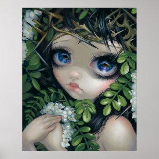 Poisonous Beauties XII Black Locust Fairy PRINT