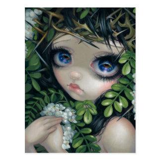 Poisonous Beauties XII Black Locust Postcard