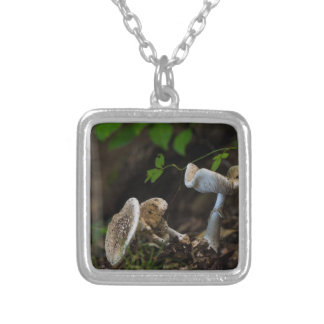 Poisonous Beauty Silver Plated Necklace