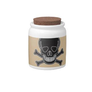 poisonous bones candy dish