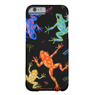 Poisonous frogs painting barely there iPhone 6 case