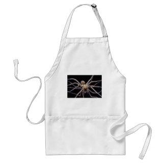 Poisonous menacing recluse spider adult apron