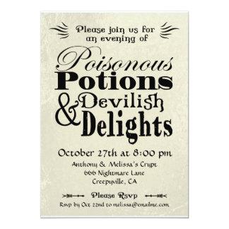 Poisonous Potions Card